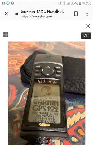 Garmin GPS 12 xl