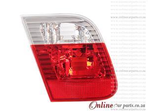 BMW E46 330i Left Hand Side White Red Boot Light 2001-2004