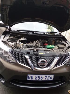 2017 Nissan Qashqai QASHQAI 1.2T ACENTA PLUS CVT