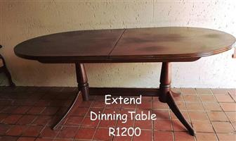 EXTEND DINING TABLE