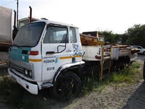 Isuzu Dropside Crane Truck