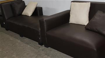 S034508A L shaped couch #Rosettenvillpawnshop
