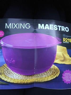 Mixing maestro bowl