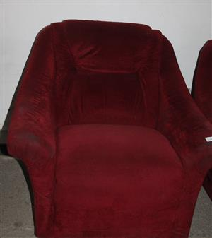 1 seater couch S031823D #Rosettenvillepawnshop