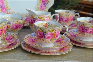 Royal Albert Serena Tea Set