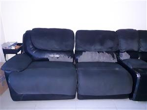 Black Kickout Couches