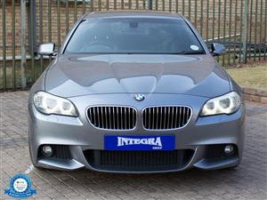 2013 BMW 5 Series 520d M Sport steptronic