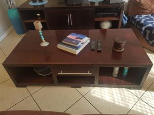 Mahogany coffee table,
