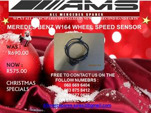 CHRISTMAS SPECIAL!!! MERCEDES BENZ W164 WHEEL SPEED SENSOR FOR SALE
