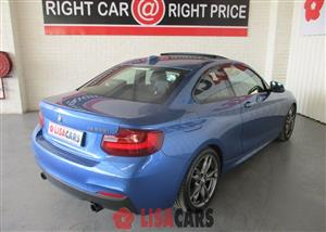 2014 BMW M2 coupe auto