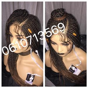 BEAUTIFUL LACE FRONT BRAID WIGS 0610713569