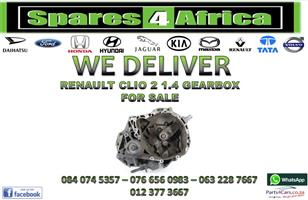 RENAULT CLIO 2 1.4 GEARBOX FOR SALE