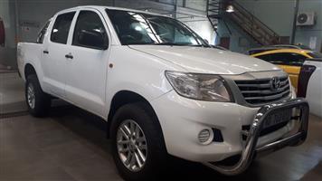 2013 Toyota Hilux 2.5D 4D double cab 4x4 SRX