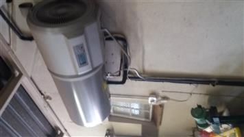 Heat pump.80 litres