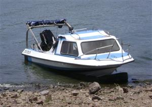 Economical family cruiser and fishing boat