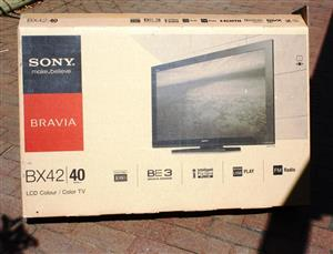 "Sony FHD LCD 40"" Colour TV set"