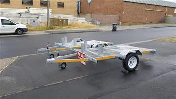 3 x motor bike trailer
