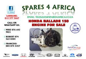 HONDA BALLADE 150 ENGINE FOR SALE