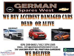 WE BUY ACCIDENT DAMAGED CAR
