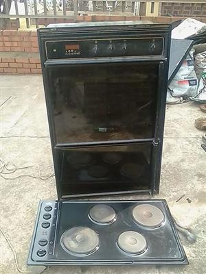 Im selling a Defy double oven thermofan plus 4plate hob