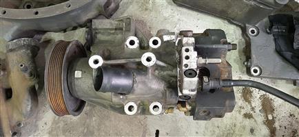 MAN D2066 High Pressure Fuel pump & Oil Pump Assy