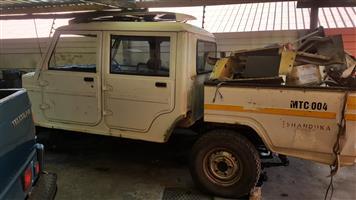 Mahindra Bolero Double Cab stripping for spares