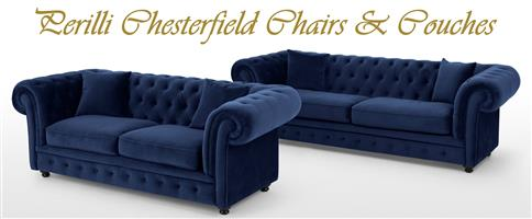 PERILLI CHESTERFIELD CHAIRS & COUCHES