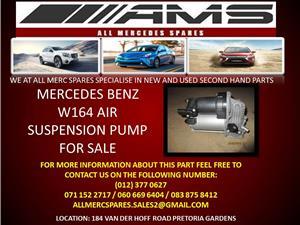 MERCEDES BENZ W164 AIR SUSPENSION PUMP FOR SALE