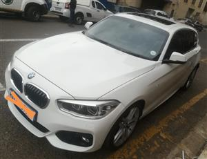 2016 BMW 1 Series 120d 5 door M Sport auto