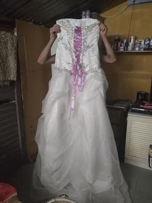 Wedding dress size 34/36