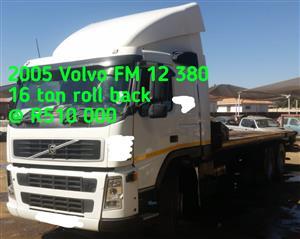 2005 Volvo FM 12 16 ton roll back