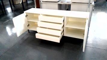 Mobile pedestal 1 drawer white