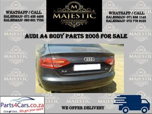 Audi A4 stripping for spares