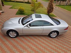 2002 Mercedes Benz CL 500