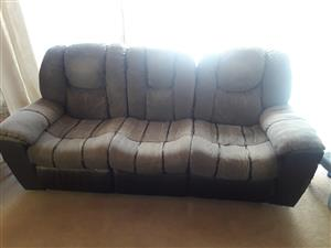 Lounge Suite 3 Piece Reclining