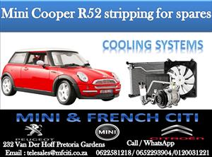 Wide Variety of Mini R52 Cooling systems for sale contact us today and get great deals!!!