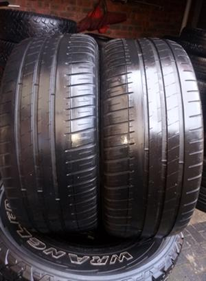 225/40R18 MICHELIN TYRES FOR SALE