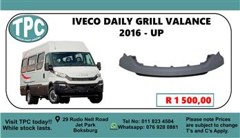 Iveco Daily Grill Valance 2016 - up - For Sale at TPC.