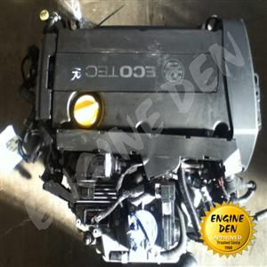 Used, OPEL ZAFIRA 1.6 16V Z16XEP USED ENGINE for sale  National