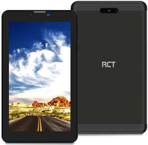 """RCT 7"""" Android Go Tablet with 3G Dual Sim Folio cover and Earphones"""