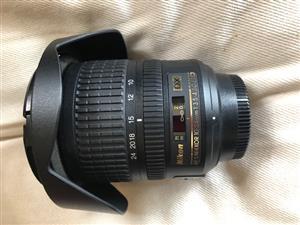 Nikon AF-S 10-24mm- DX lens