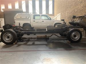 1999 Ford courier chassis