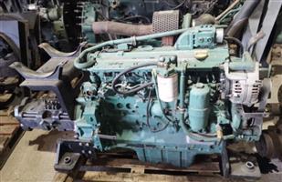 Volvo ec210 engine and hydraulic pump