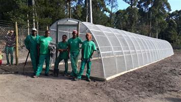 Garden Greenhouse DIY Eco Tunnels for plants & seedlings