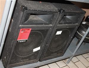 PA/DJ Speaker system S030138A #Rosettenvillepawnshop
