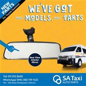 Rear View Interior Mirror suitable for Toyota Quantum - SA Taxi Auto Parts quality spares