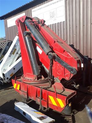Used Cormach G200 Truck Crane [40tm} | CRANE CLINIC