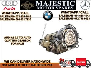 Audi A6 2.7 tdi auto gearbox for sale