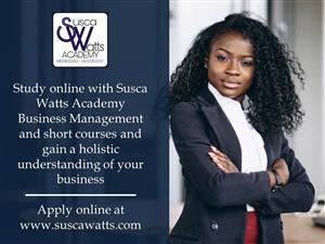 Business Courses at Susca Watts Academy