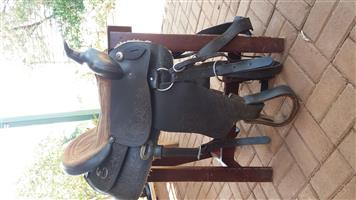Western saddles and bridels